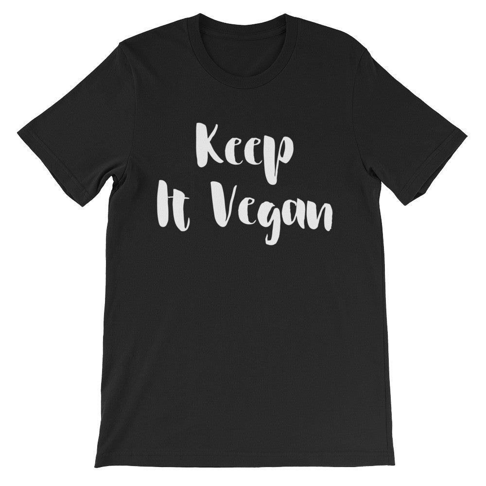 Keep it vegan short sleeve t-shirt VU