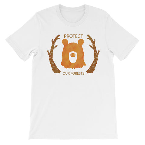 Protect our forest short sleeve unisex t-shirt WU
