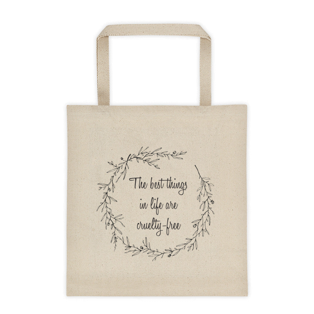 The best things in life are cf tote bag