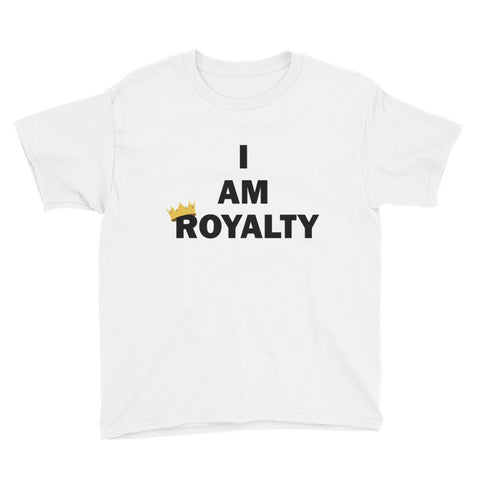 I am royalty youth short sleeve t-shirt