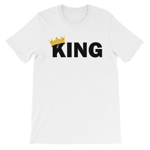 King crown sleeve male t-shirt EM