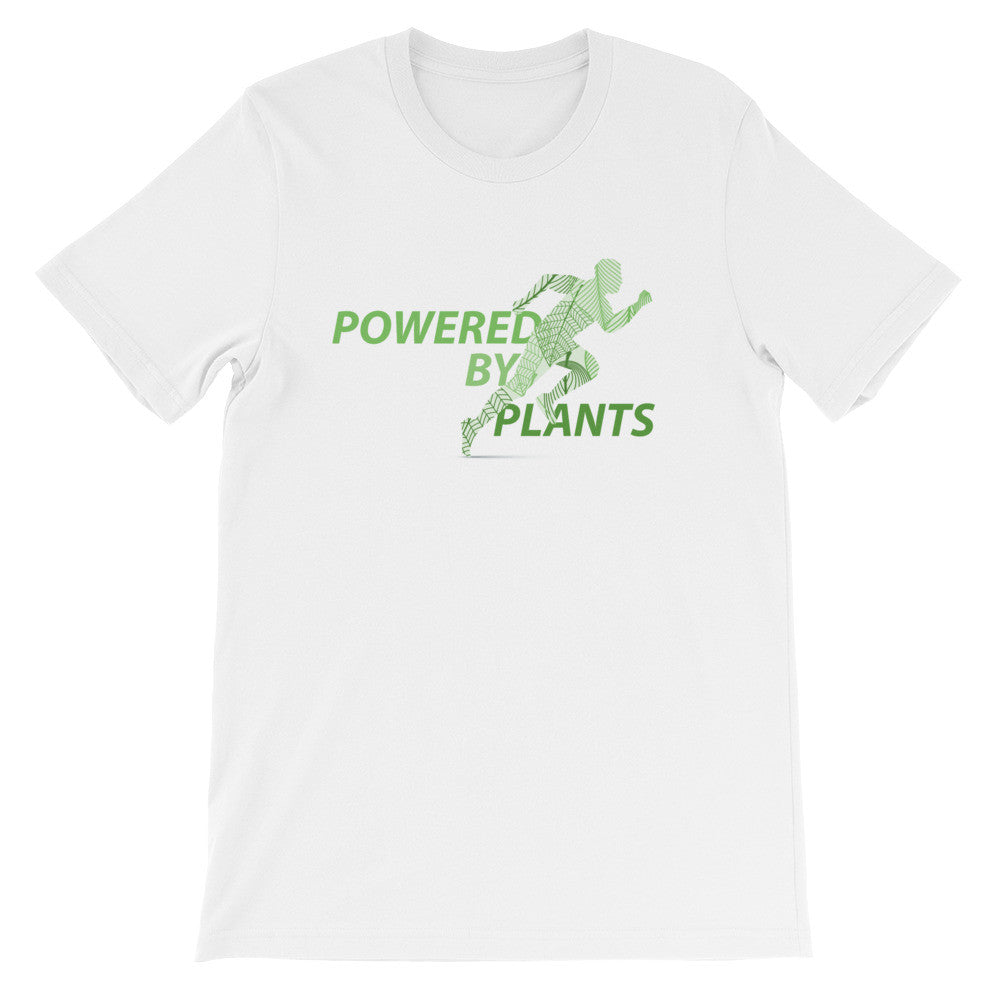 Powered by plants short sleeve male t-shirt VM