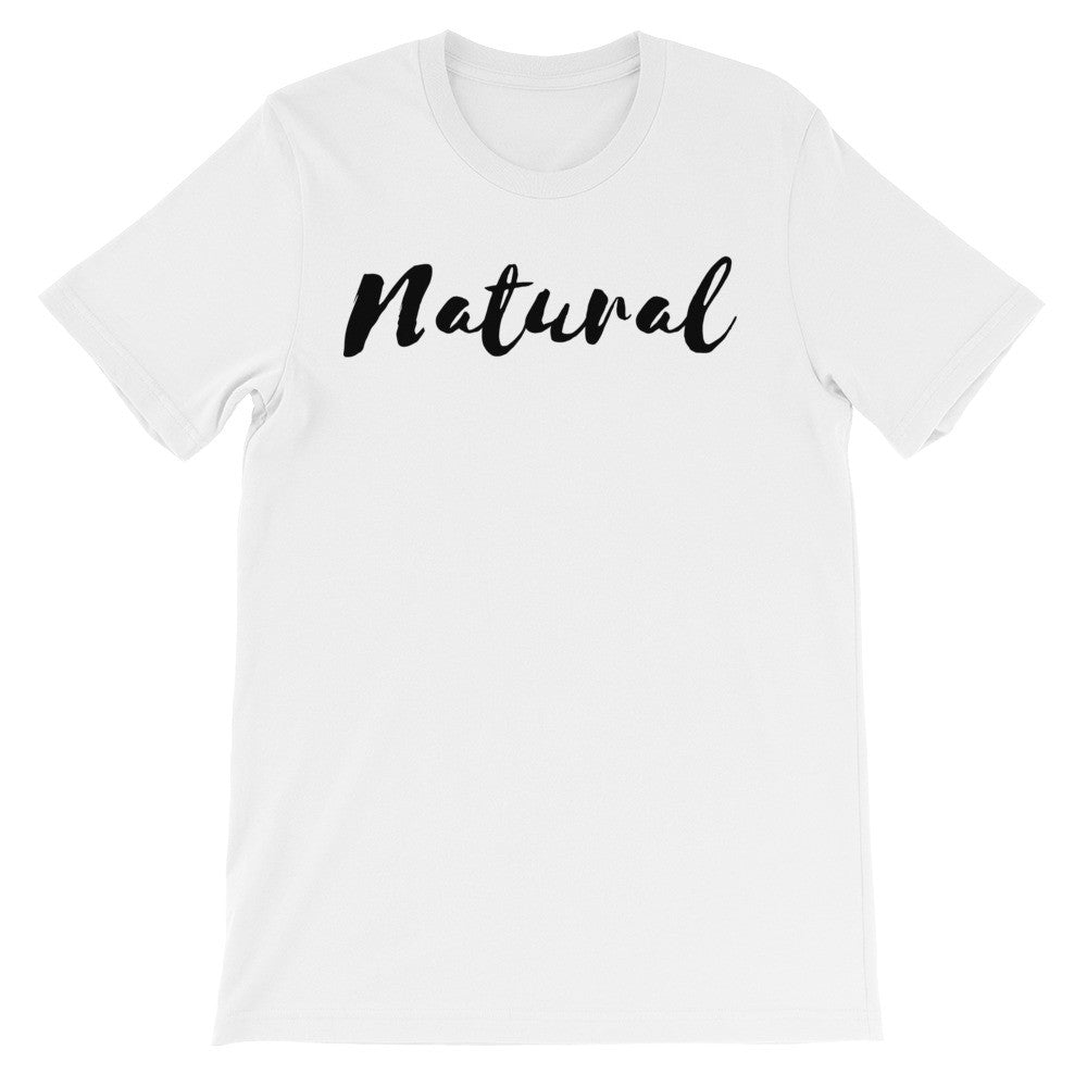 Natural short sleeve t-shirt NU