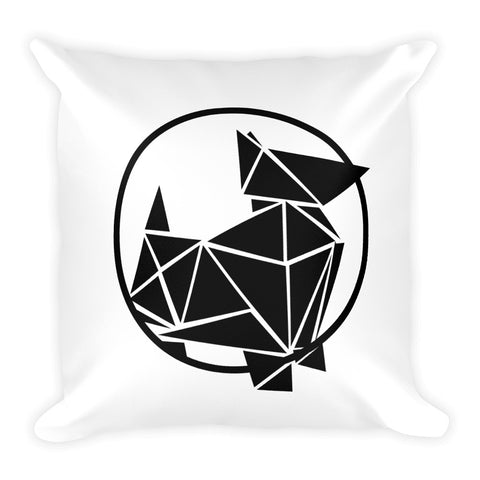 Pewilben Logo Square Pillow