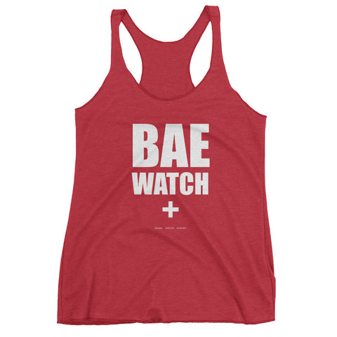 Bae watch (banana, avocado, eggplant) women's tank top