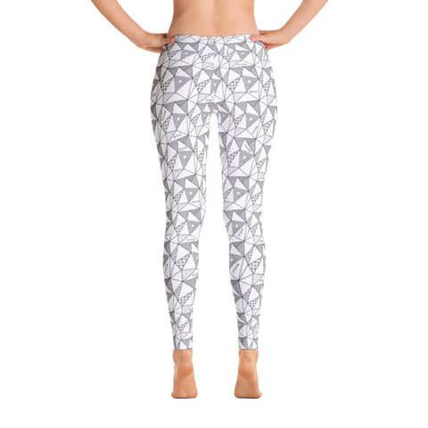 Geo vegan leggings