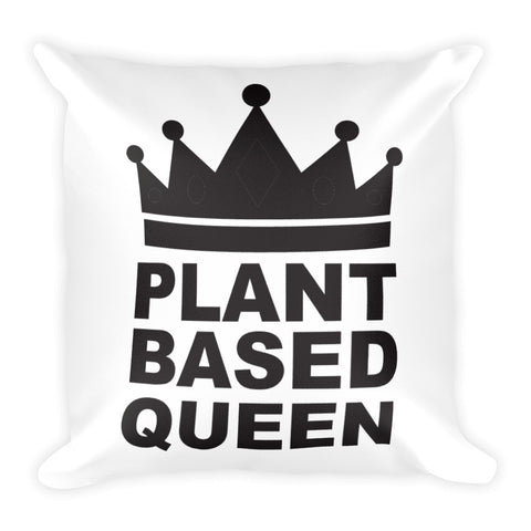 Plant based queen square pillow