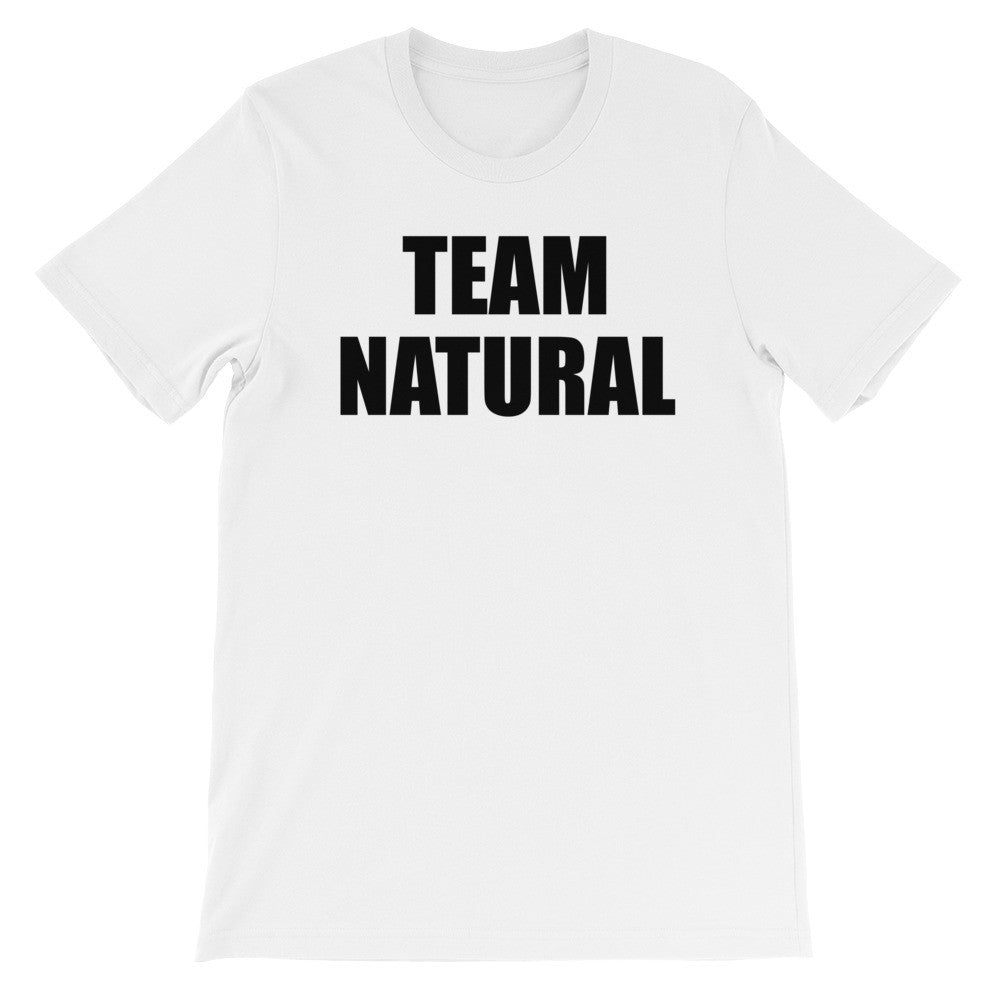 Team Natural short sleeve unisex t-shirt NF