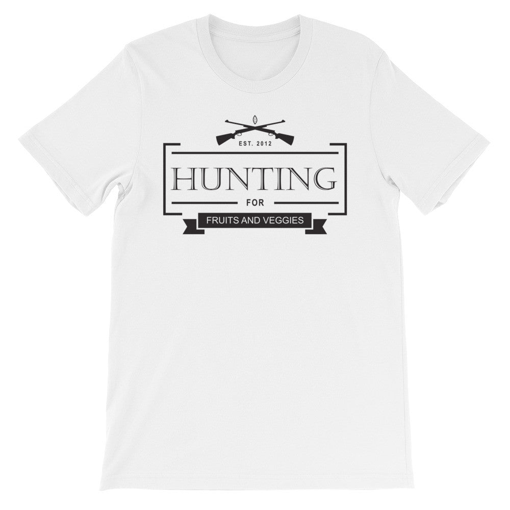 Hunting fruits and veggies short sleeve male t-shirt VM