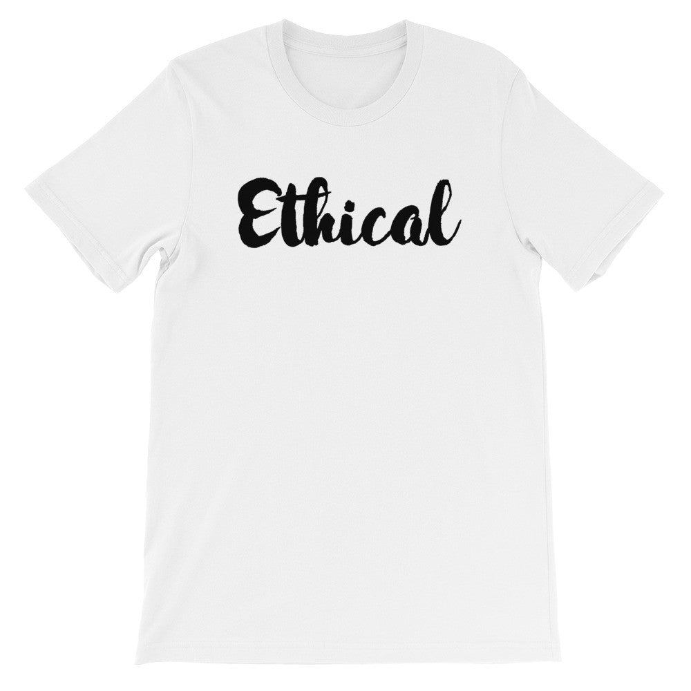 Ethical short sleeve t-shirt VU