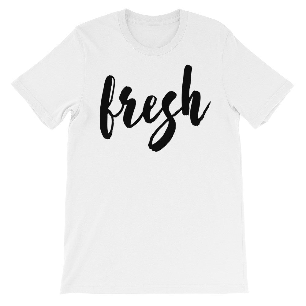 Fresh short sleeve unisex t-shirt EU