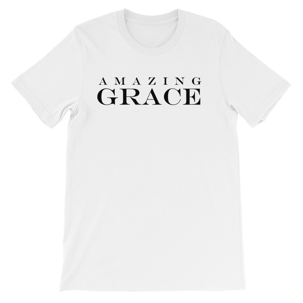 Amazing Grace short sleeve t-shirt EU