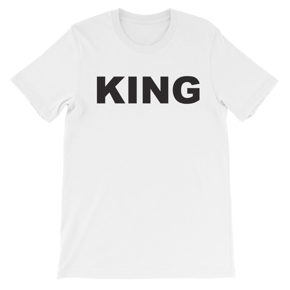 King blk short sleeve male t-shirt EM