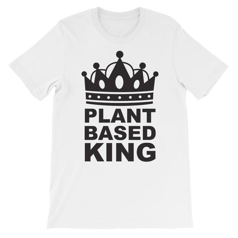 Plant based king short sleeve male t-shirt VM