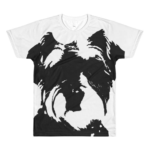 Puppyface all over unisex t-shirt AU