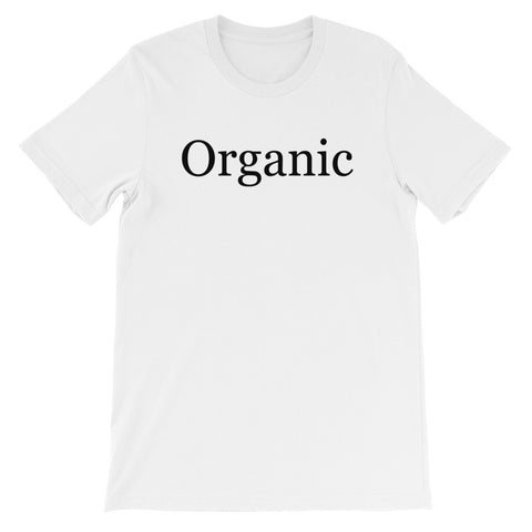 Organic short sleeve t-shirt VU