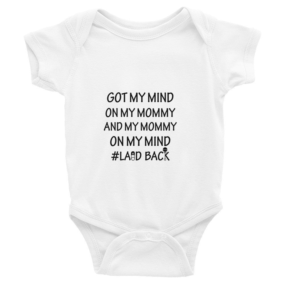Mommy on my mind infant bodysuit
