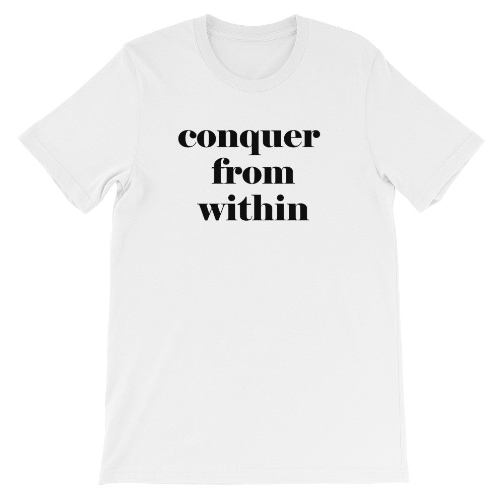 Conquer from within short sleeve t-shirt EU