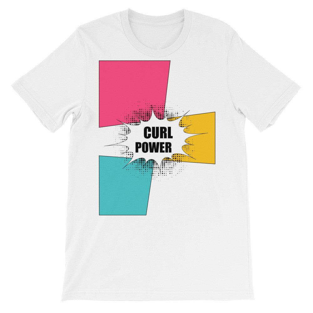 Curl power short sleeve ladies t-shirt NF