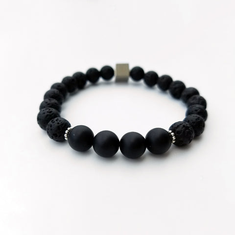 Black Rock Lava Bracelet