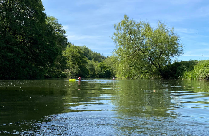 Wild swimming in the time of COVID19