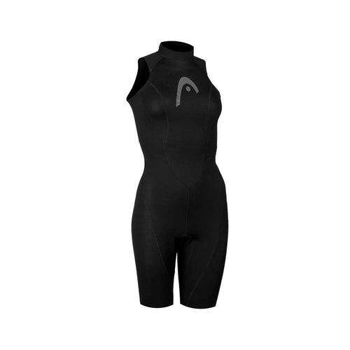 HEAD Multix Shorty Watersports  Sleeveless Wetsuit Womens - Black/ Pink - Tri Wetsuit Hire