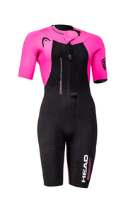 HEAD Rough Pink Wetsuit Womens - PRE ORDER - Tri Wetsuit Hire