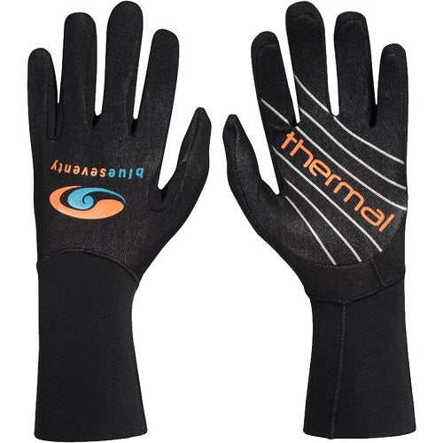 Blueseventy Thermal Swim Gloves - Black - Tri Wetsuit Hire