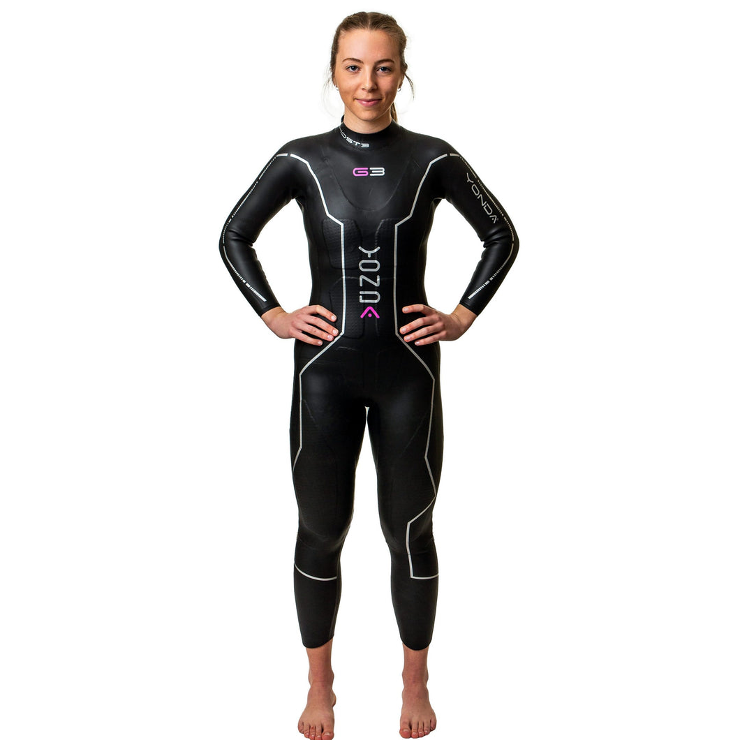 Yonda Ghost 3 Wetsuit Womens 2021 - Tri Wetsuit Hire