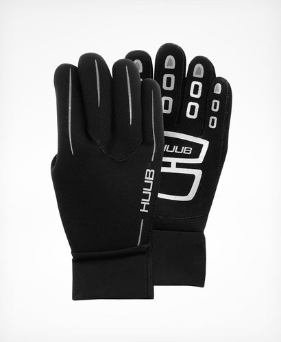 Huub Neoprene Gloves - Black - PRE-ORDER - DELIVERY END OF FEBRUARY - Tri Wetsuit Hire