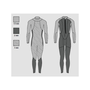 HEAD Swimming Open Water Shell  3.2.2 Wetsuit Womens - Tri Wetsuit Hire