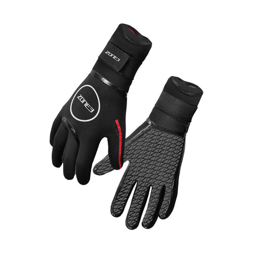 Zone3 Neoprene Heat-Tech Gloves - Tri Wetsuit Hire