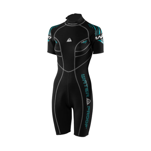 Waterproof Sports Series W30 2.5mm Shorty Womens Wetsuit - Tri Wetsuit Hire