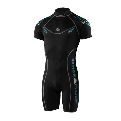 Waterproof Sports Series W30 2.5mm Shorty Wetsuit Mens - Tri Wetsuit Hire
