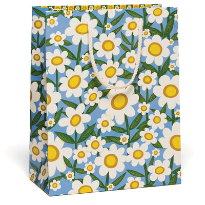 Seventies Daisy Gift Bag Red Cap Cards