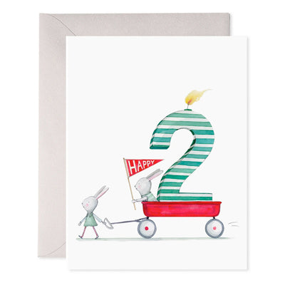 Happy 2nd Birthday Greeting Card