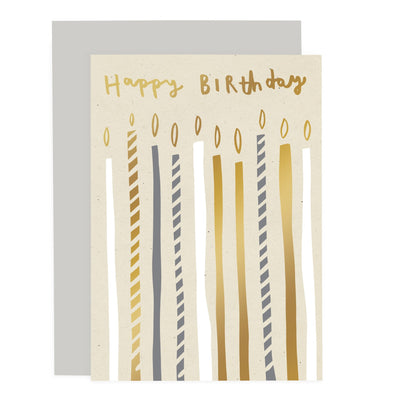 Birthday Candles Card Old English Company