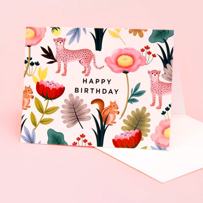 Animal Kingdom Birthday Card