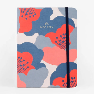 Camellia Threadbound Notebook Mossery