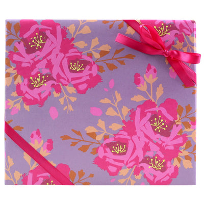 English Roses Gift Wrap Smudge Ink