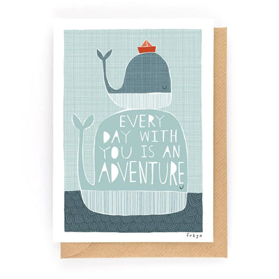Everyday Adventures Card Freya Art & Design