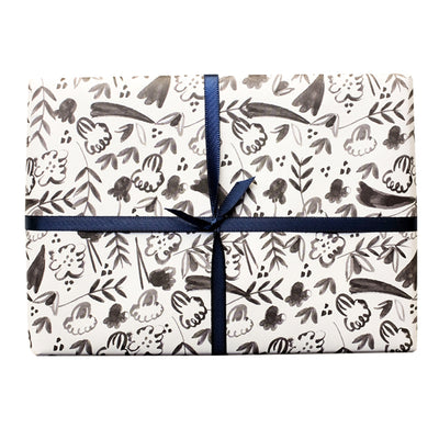 Fleurs For You Gift Wrap Roll of 3 Sheets Mr. Boddington's Studio