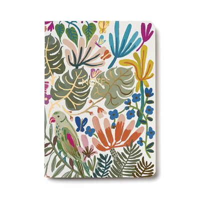 Tropical Jungle Notebook Red Cap Cards