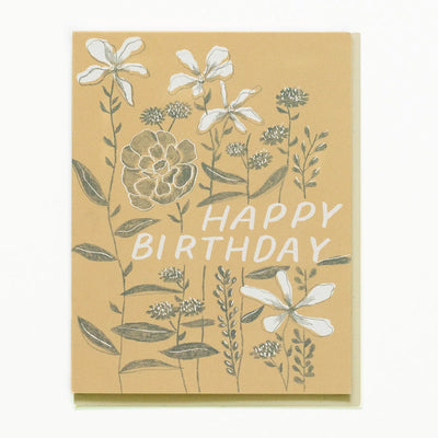 Growing Flowers Birthday Card Small Adventure