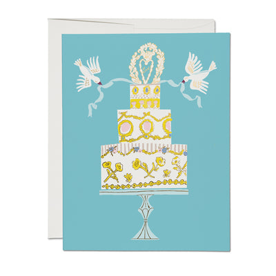 Love Cake Card Red Cap Cards