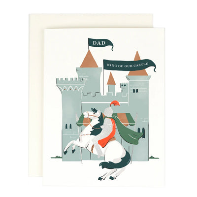 King of our Castle Card Amy Heitman