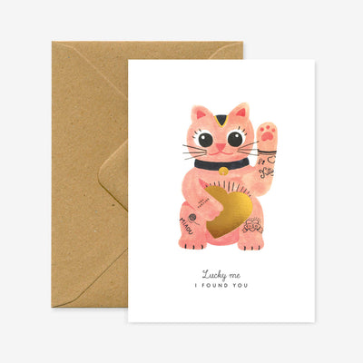 Lucky Cat Card All the Ways to Say
