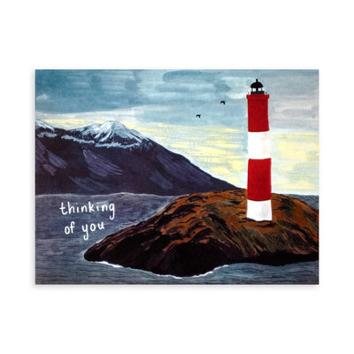 Lighthouse Thinking of You Card Small Adventure