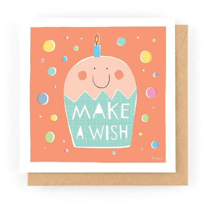 Make a Wish Card Freya Art & Design