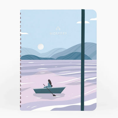 Moon Lake Wirebound Notebook Mossery